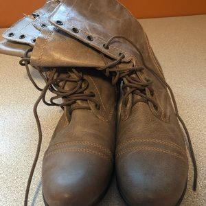 Size 11 Lace-Up Steve Madden Boots
